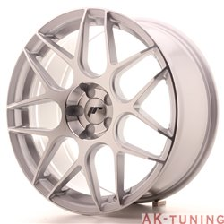 Japan Racing JR18 19x8.5 ET35-40 5H Blank Silver M
