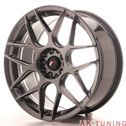 Japan Racing JR18 19x8.5 ET35 5x100/120 Hiper Blac