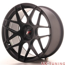 Japan Racing JR18 19x9.5 ET22-35 5H Blank MBlack