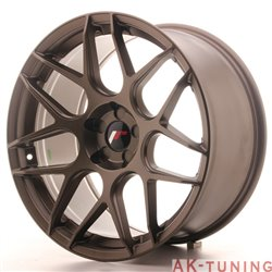 Japan Racing JR18 19x9.5 ET22-35 5H Blank MattBr