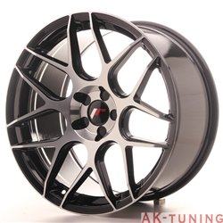 Japan Racing JR18 19x9.5 ET35 5H Blank Black Ma