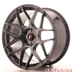 Japan Racing JR18 19x9.5 ET35 5H Blank Hiper Bl