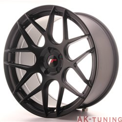 Japan Racing JR18 20x10 ET20-45 5H Blank Matt Bla