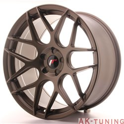 Japan Racing JR18 20x10 ET40-45 5H Blank Matt Bro