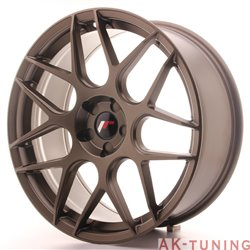 Japan Racing JR18 20x8.5 ET35-40 5H Blank Matt Br
