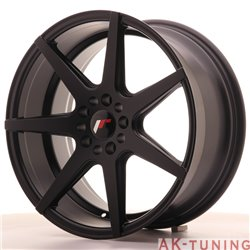 Japan Racing JR20 18x8.5 ET35 5x100/120 MattBlack | JR201885MZ3574BF