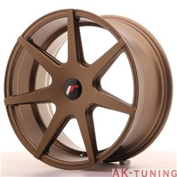 Japan Racing JR20 18x8.5 ET40 Blank Matt Bronze | JR201885XX4074MBZ