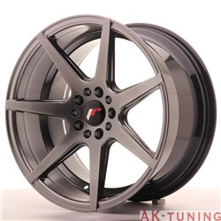 Japan Racing JR20 18x9.5 ET40 5x112/114 Hiper Blac | JR201895ML4074HB