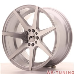 Japan Racing JR20 18x9.5 ET40 5x112/114 Silver Mac | JR201895ML4074SM