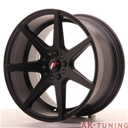 Japan Racing JR20 18x9.5 ET35 5x100/120 Matt Black | JR201895MZ3574BF
