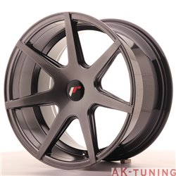 Japan Racing JR20 18x9.5 ET20-40 Blank Hiper Blac | JR201895XX2067HB