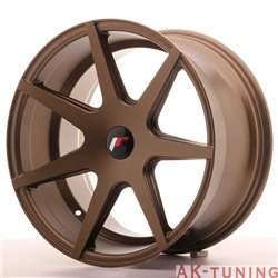 Japan Racing JR20 18x9.5 ET20-40 Blank Matt Bronz | JR201895XX2067MBZ