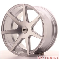 Japan Racing JR20 18x9.5 ET20-40 Blank Silver Mach | JR201895XX2067SM