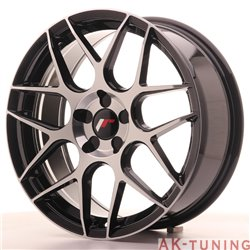 Japan Racing JR18 18x7.5 ET35-40 Blank 5H Black Ma