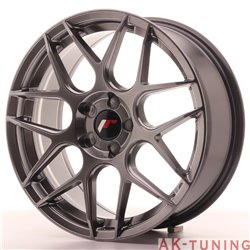 Japan Racing JR18 18x7.5 ET35-40 Blank 5H Hiper Bl