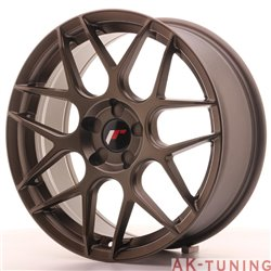 Japan Racing JR18 18x7.5 ET35-40 Blank 5H Matt Bro