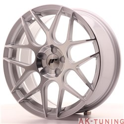 Japan Racing JR18 18x7.5 ET35-40 Blank 5H Silver M