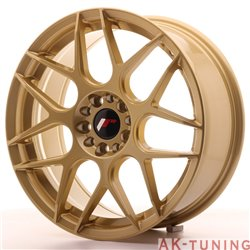 Japan Racing JR18 18x7.5 ET40 5x112/114 Gold