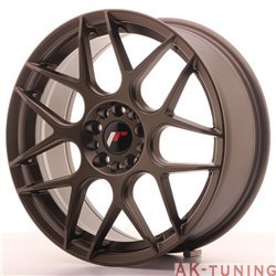 Japan Racing JR18 18x7.5 ET40 5x112/114 Matt Bronz