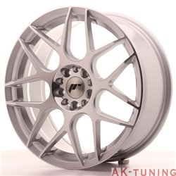 Japan Racing JR18 18x7.5 ET40 5x112/114 Silver Mac