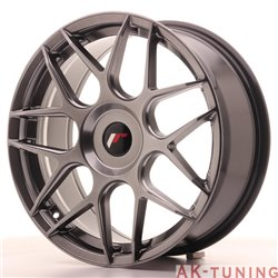 Japan Racing JR18 18x7.5 ET25-40 Blank Hiper Blac
