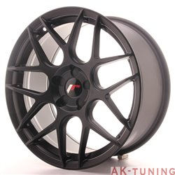 Japan Racing JR18 18x8.5 ET35-45 5H Blank MattBlac