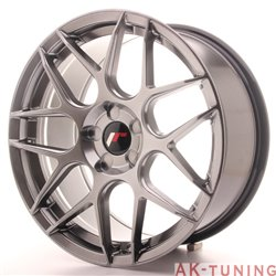 Japan Racing JR18 18x8.5 ET35-45 5H Blank Hiper Bl