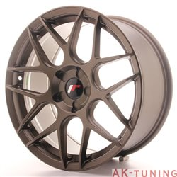 Japan Racing JR18 18x8.5 ET35-45 5H Blank Matt Bro