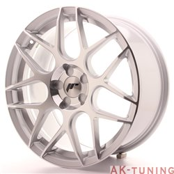 Japan Racing JR18 18x8.5 ET35-45 5H Blank Silver M