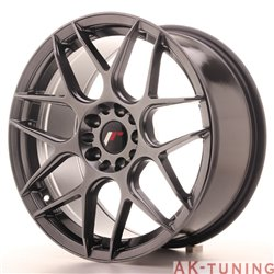 Japan Racing JR18 18x8.5 ET40 5x112/114 Hiper Blac