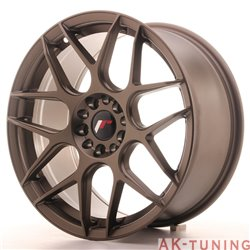 Japan Racing JR18 18x8.5 ET40 5x112/114 Matt Bronz