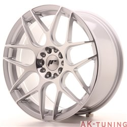 Japan Racing JR18 18x8.5 ET40 5x112/114 Silver Mac