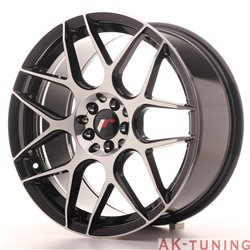 Japan Racing JR18 18x8.5 ET35 5x100/120 Black Mach