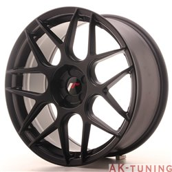 Japan Racing JR18 19x8.5 ET35-40 5H Blank Matt Bla