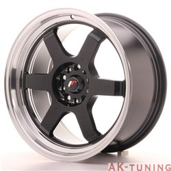 Japan Racing JR12 18x9 ET30 5x100/120 Gloss Black