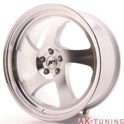 Japan Racing JR15 19x8.5 ET35 5x120 Silver Machine | JR1519855I3574S