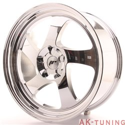 Japan Racing JR15 19x8.5 ET35-40 5H Blank Vacum Ch | JR1519855X3574VC