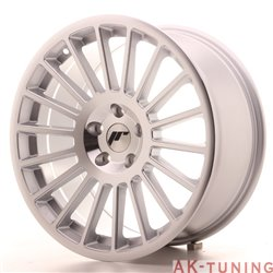 Japan Racing JR16 18x8.5 ET40 5x112 Machined Silve