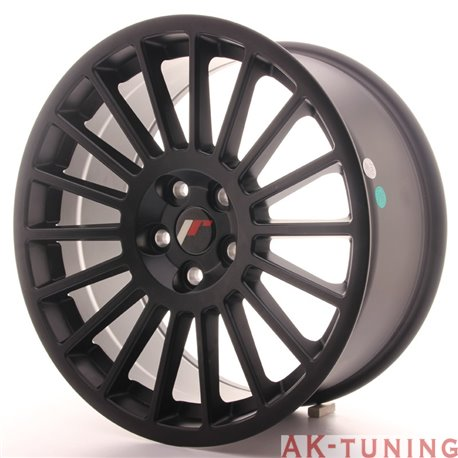 Japan Racing JR16 18x8.5 ET40 5H Blank Matt Black
