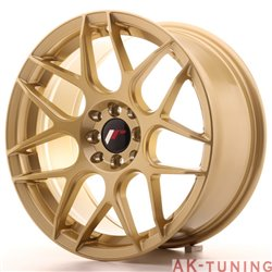 Japan Racing JR18 17x8 ET35 5x100/114 Gold