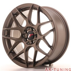 Japan Racing JR18 17x8 ET35 5x100/114 Matt Bronze