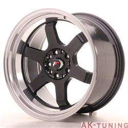 Japan Racing JR12 18x10 ET25 5x112/114.3 Gloss Bla | JR121810ML2574GB