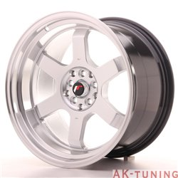 Japan Racing JR12 18x10 ET25 5x112/114.3 Hiper Sil | JR121810ML2574HS