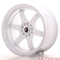 Japan Racing JR12 18x10 ET25 5x112/114.3 White | JR121810ML2574W