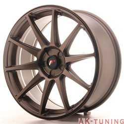 Japan Racing JR11 19x8.5 ET35-40 5H Blank Bronze