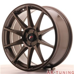 Japan Racing JR11 19x8.5 ET35-40 5H Blank GlossyBZ